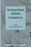 International  Regional and National Environmental Law