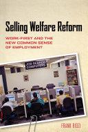Selling Welfare Reform Pdf/ePub eBook