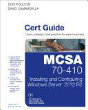 MCSA 70-410 Cert Guide R2