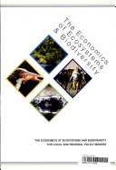 The Economics of Ecosystems and Biodiversity for Local and Regional Policy Makers