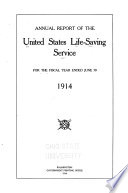 Annual Report of the United States Life Saving Service