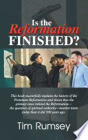 Is The Reformation Finished