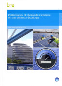 Performance of Photovoltaic Systems in Non-Domestic Buildings