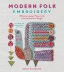 Modern Folk Embroidery