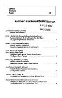Carleton Germanic Papers
