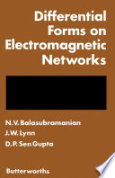 Differential Forms on Electromagnetic Networks