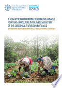 A new approach for mainstreaming Sustainable Food and Agriculture in the implementation of the Sustainable Development Goals Book