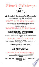 Time s telescope  or  A Complete guide to the almanack  ed  by J  Millard