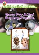 Care for a Pet Racing Pigeon Pdf/ePub eBook