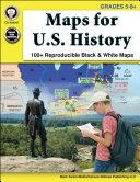 Maps for U S  History  Grades 5   8