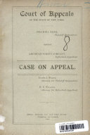 Court of Appeals: Of The State of New York