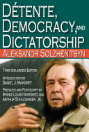 Detente, Democracy and Dictatorship Pdf/ePub eBook