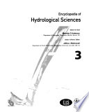 Encyclopedia of hydrological sciences
