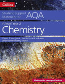 A-Level Year 2 Chemistry