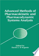 Advanced Methods of Pharmacokinetic and Pharmacodynamic Systems Analysis Book