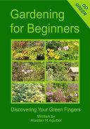 Gardening For Beginners Book