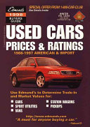 Used Cars Prices and Ratings Book
