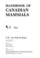 Handbook of Canadian Mammals