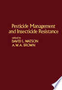 Pesticide Management and Insecticide Resistance