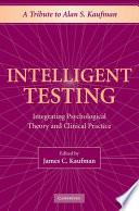Intelligent Testing