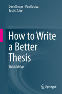 How to Write a Better Thesis [Pdf/ePub] eBook