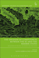 The Division of Competences between the EU and the Member ...