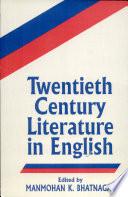 Twentieth Century Literature in English
