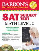 Barron s Sat Subject Test Math Level 2 Book