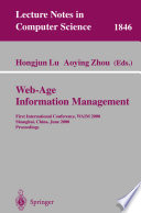Web Age Information Management Book PDF