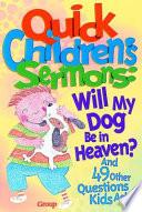 Quick Children's Sermons