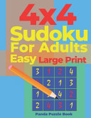 4x4 Sudoku for Adults Easy Large Print