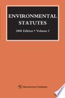 Environmental Statutes