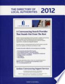 Directory of Local Authorities 2012