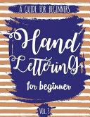 Hand Lettering for Beginner Book PDF