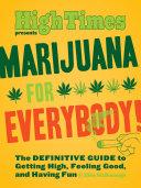 Marijuana for Everybody  Book