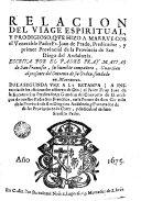 Relacion del viage espiritual y prodigioso, que hizo a Marruecos el Venerable Padre Fr. Juan de Prado, Predicador y primer Provincial de la provincia de San Diego del Andaluzia