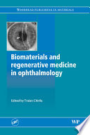 Biomaterials And Regenerative Medicine In Ophthalmology Book PDF