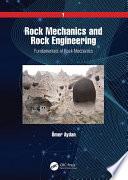 Rock Mechanics and Rock Engineering