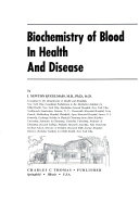 Biochemistry of Blood in Health and Disease