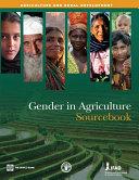 Gender in Agriculture Sourcebook