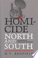 Homicide  North and South Book