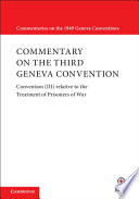 Commentary On The Third Geneva Convention