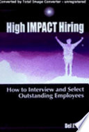 High Impact Hiring Book