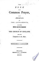 The Book of Common Prayer     Also  the Companion to the Altar  With Notes and Annotations