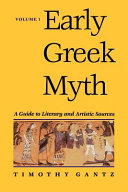 Early Greek Myth