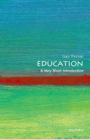 Education  A Very Short Introduction