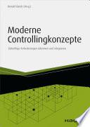 Moderne Controllingkonzepte