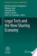 Legal Tech and the New Sharing Economy Book