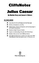 Cliffsnotes On Shakespeare S Julius Caesar