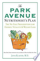 The Park Avenue Nutritionist S Plan Book PDF